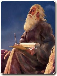 John the Apostle on Patmos